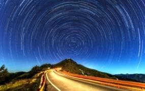 86张唯美星空星轨高清背景图片素材PS合成叠加天空夜景大图