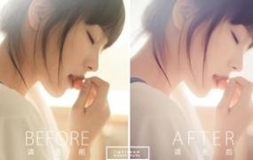 LR预设 日系著名摄影大师岩井俊二清新色调 影楼人像写真文艺Lightroom滤镜
