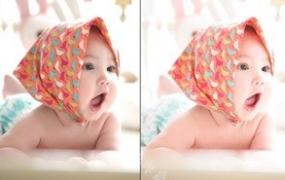 LR预设Lightroom新生婴儿宝宝儿童室内拍摄PR达芬奇FCPX手机滤镜LUT调色