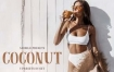 Lightroom预设欧美小麦健康肤色椰子棕色LR人像调色预设滤镜
