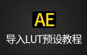 AE导入LUTs预设教程–WIN/MAC通用