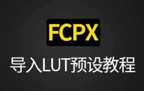 Final cut pro X 导入LUT预设详细教程(FCPX)