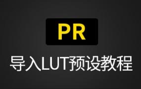 Premiere CC (PR) 导入Luts预设教程步骤