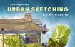 Procreate 笔刷城市素描艺术笔刷套装iPad绘画色卡教程